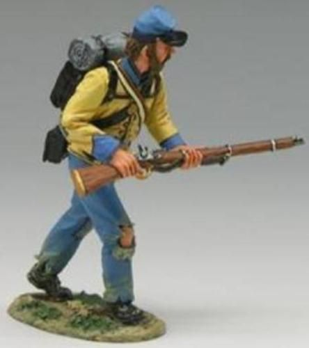 AMERICAN CIVIL WAR UNION INFANTRY IN SACK COATS 1861-65 PERRY MINIATURES
