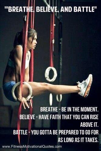 Breath. Believe. Battle