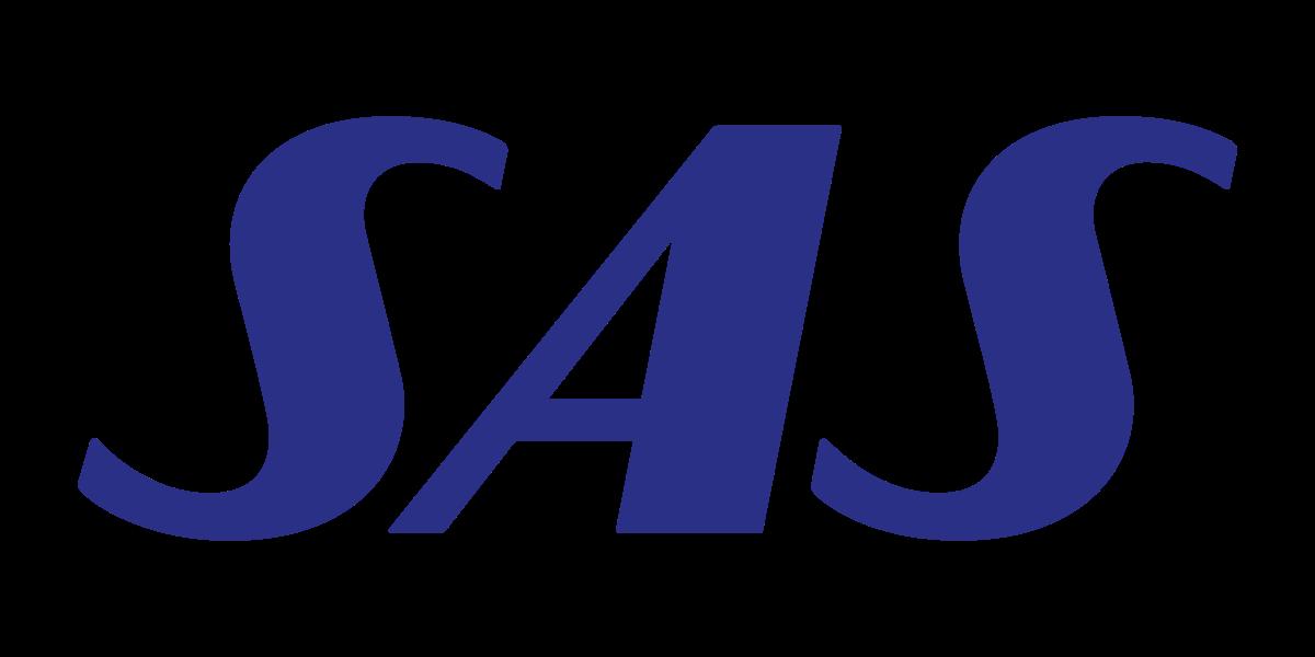Sas Scandinavian Logo Evolution Scandinavian Airlines System Logos