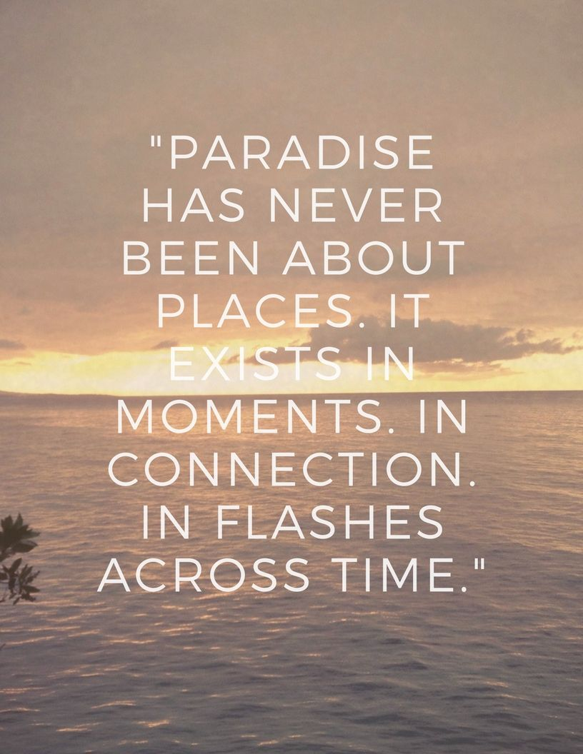 Blog Post- Travel Diary   Sunset quotes, Paradise quotes ...