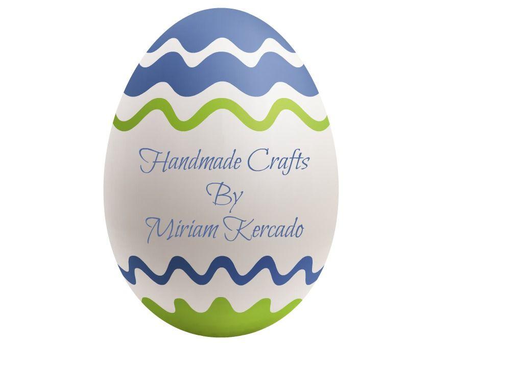 Handcrafts By Miriam Kercado Easter Egg Fb Profile Pic Eshanas Tenga Wavy