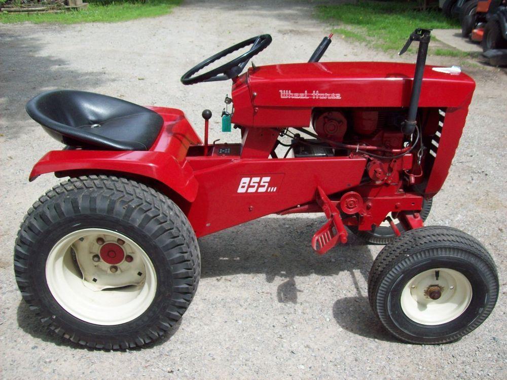 Vintage Wheel Horse 855 Garden Tractor Garden Tractors Pinterest Tractor Wheels And Horse