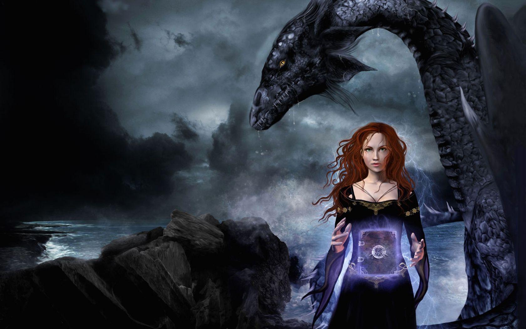 красивые картинки с драконами и ведьмами простенькую систематизацию наших