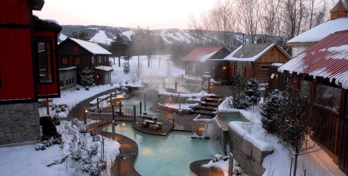 Scandinave Spa Blue Mountain Scandinavian Baths Day Resort Spa Blue Mountain Collingwood Scandinavian Baths