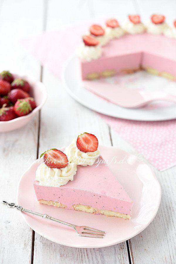 Erdbeer Quark Kuchen Rezept Mit Bildern Erdbeer Quark Kuchen Kuchen Ohne Backen Kuchen
