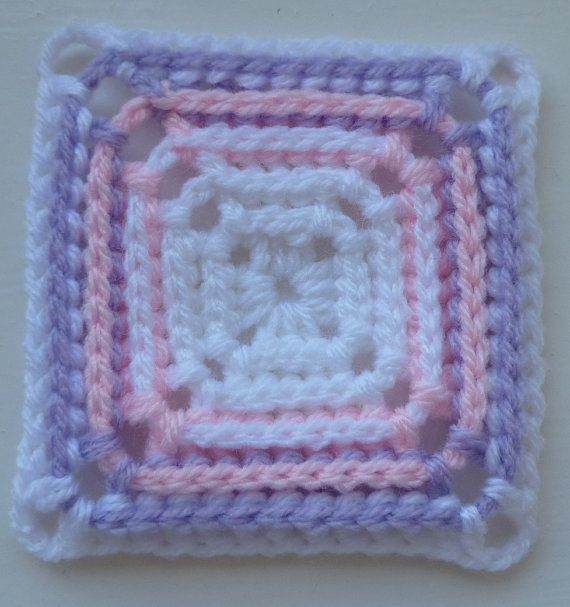 Instant Download Crochet PDF pattern - LD-0104 BPDC Afghan block
