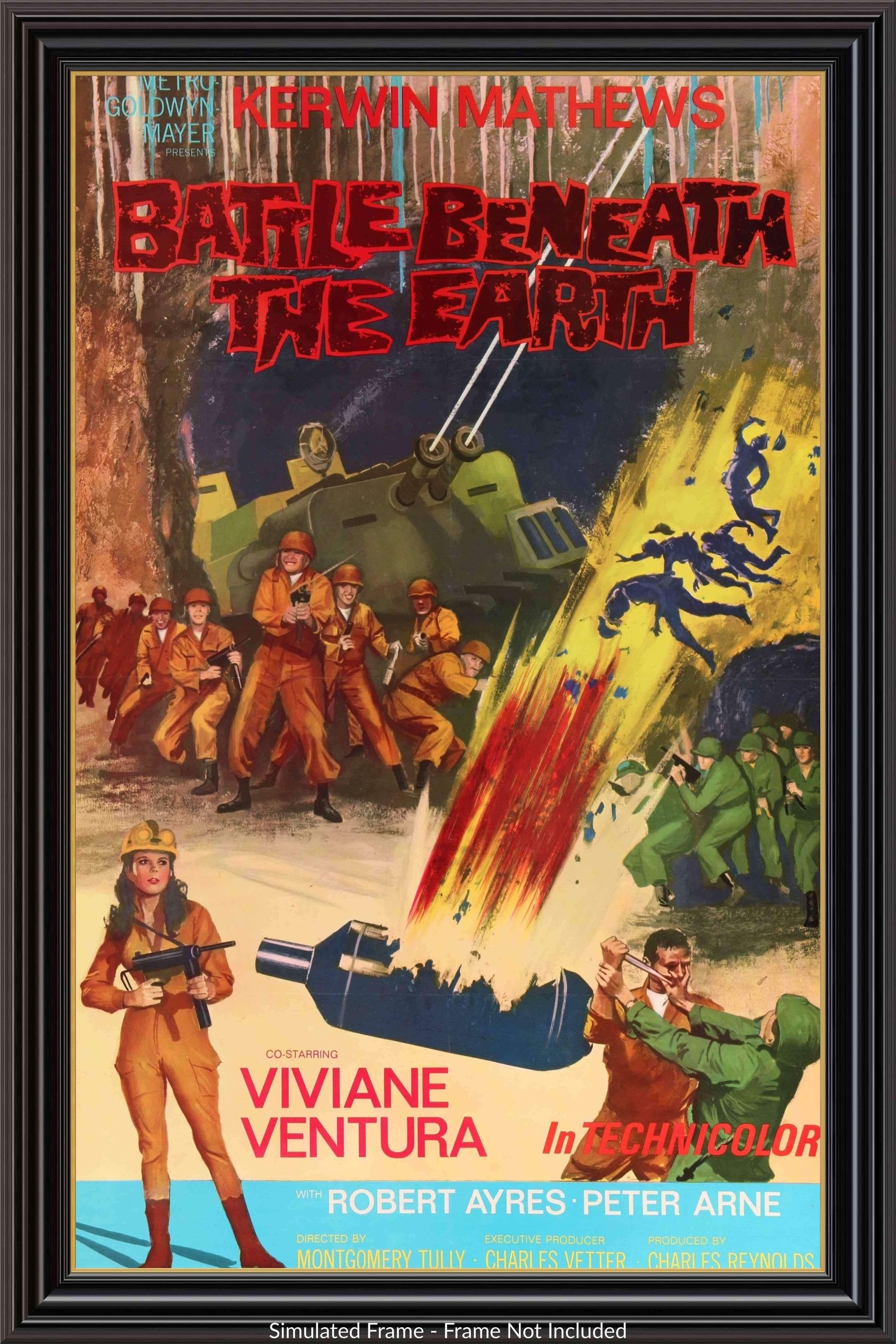 Battle Beneath The Earth 1967 Movie Posters Movie Posters