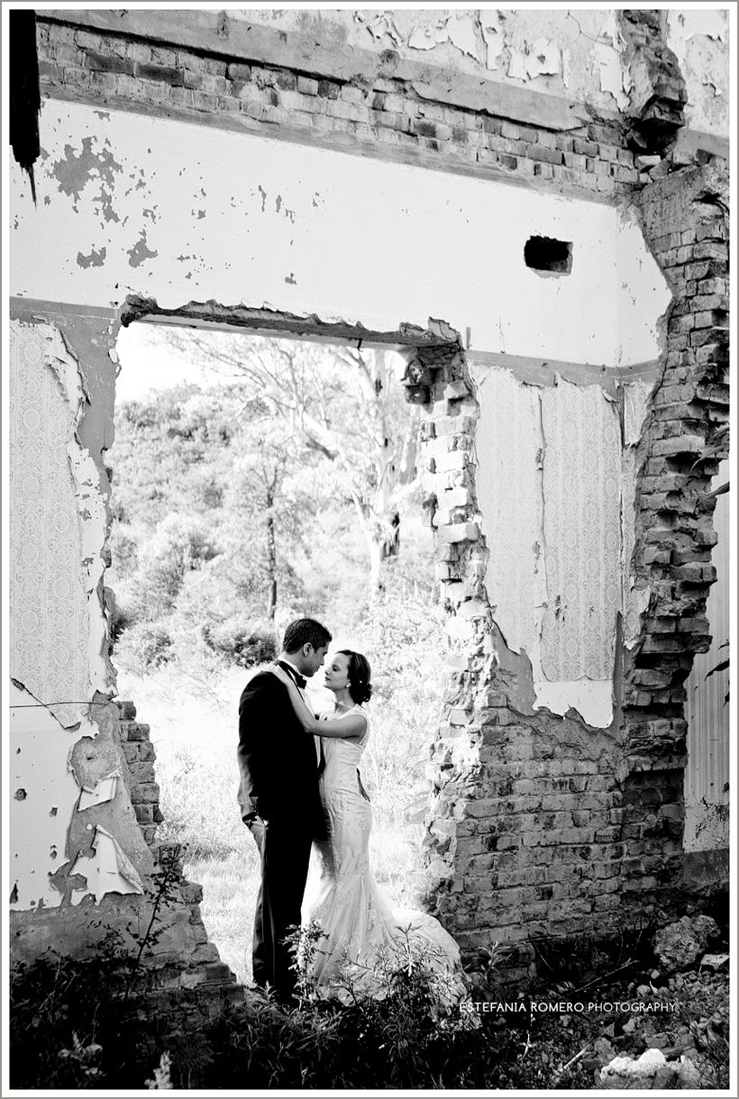 Wedding photo by old ruins in South Africa   photography {my own ...