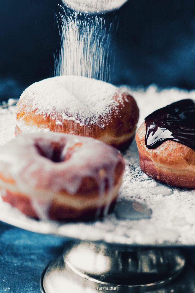 #Delicious #foods -  Delicious food shot by Kwestia Smaku    Does anyone else feel like donuts look so much better than they taste?