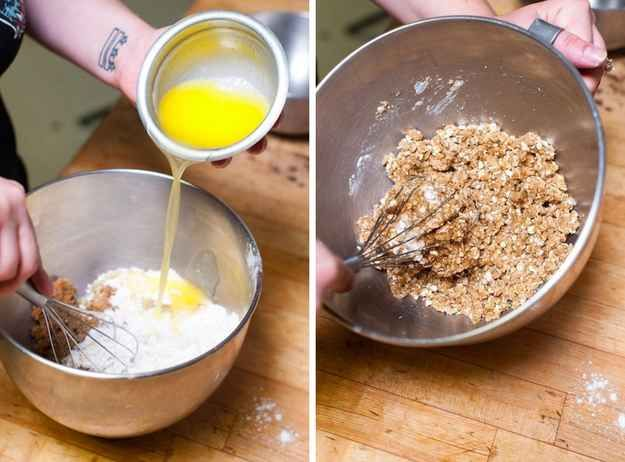Here S How To Make An Easy Rum Apple Crisp Yummy Pinterest