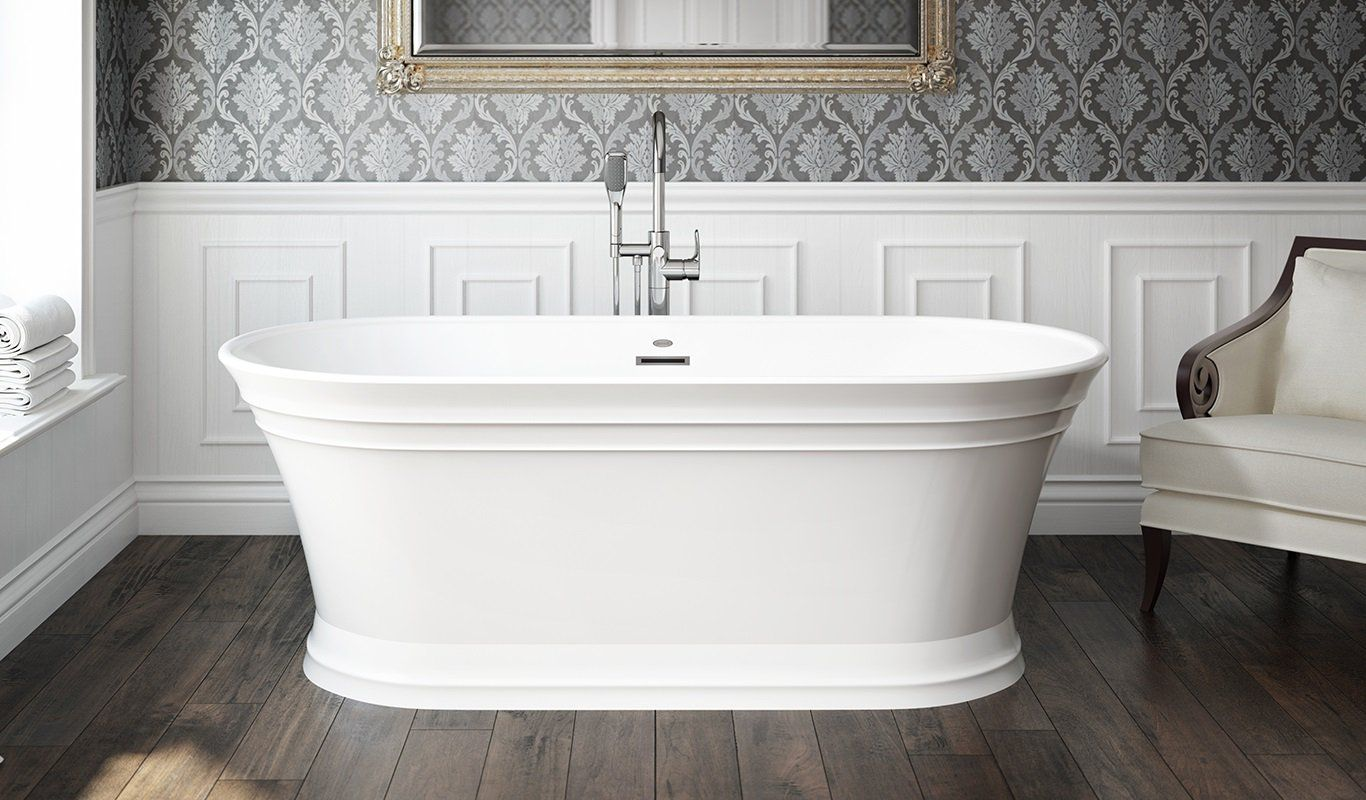 Serafina™ Freestanding Bath | Jacuzzi Luxury Bath | Pinterest ...