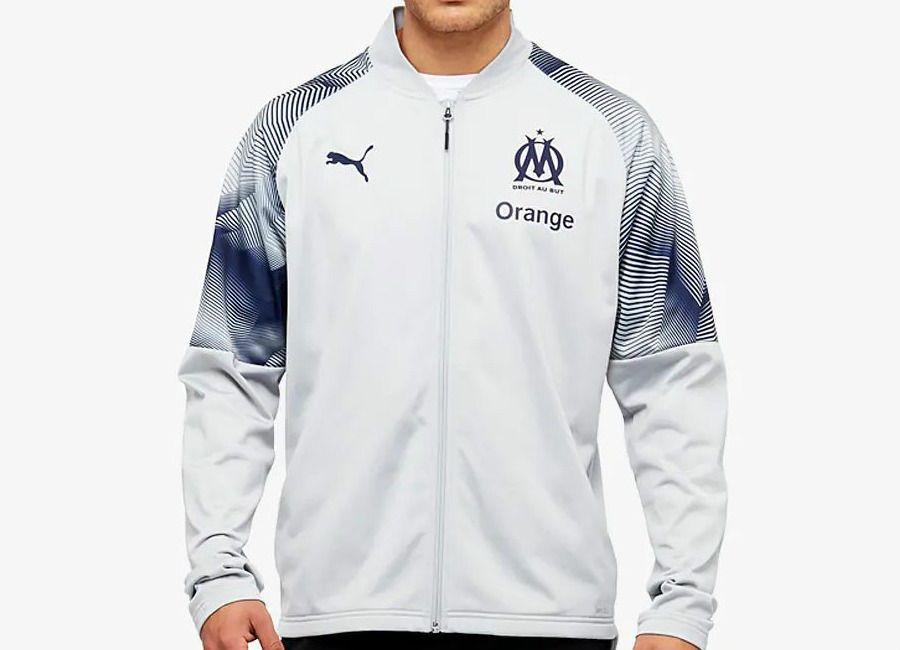 Olympique Stadium Jacket Omteamom 201819 Puma Marseille R4A5jL3q
