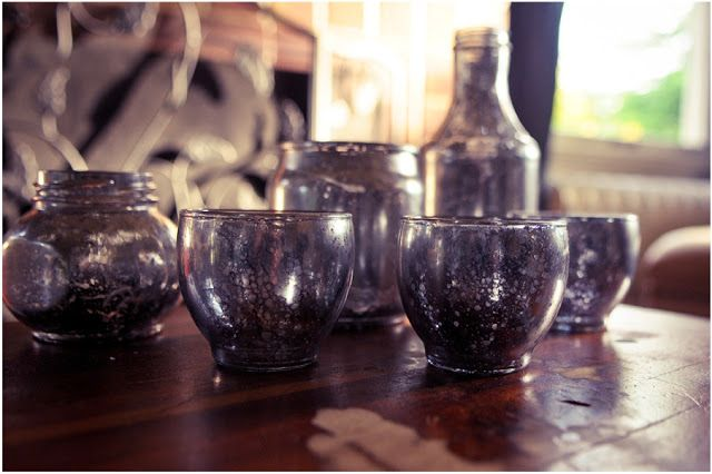 The Things We Would Blog: Project Pinterest: Faux Mercury Glass DIY