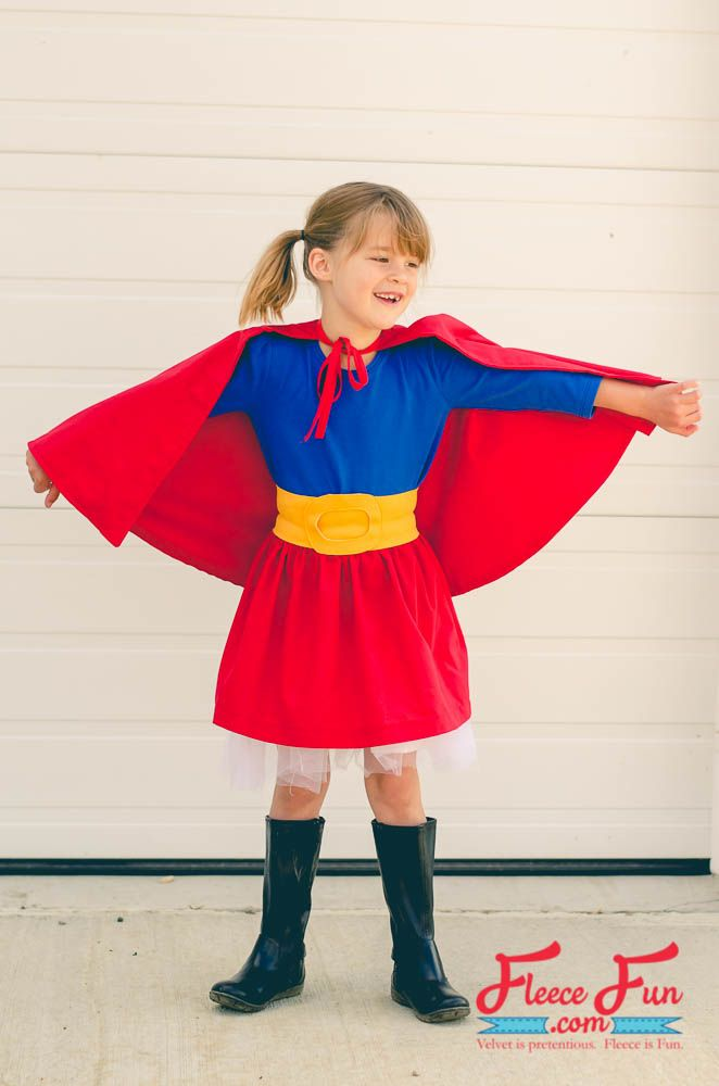How to make a Supergirl Costume tutorial | Sewing | Pinterest ...