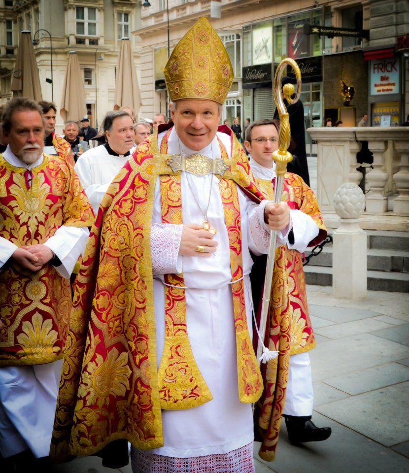 Kardinal Schönborn zur Palmprozession am 1.4.2012 am Graben