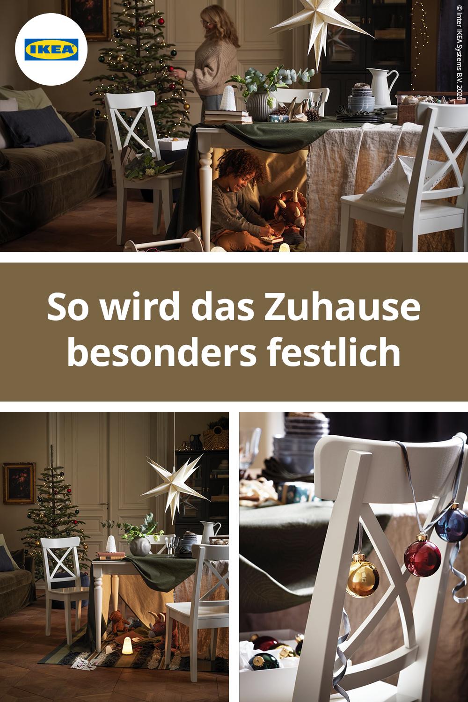 IKEA Deutschland | Es ist fast Dezember, aber du bist noch nicht ganz in Feiertagsstimmung? Keine Sorge – wir haben uns ein paar Möglichkeiten ausgedacht, die du für die Feiertage vorbereiten können. Zum Beispiel mit schöner Deko, die alle Gäste beeindrucken wird. #IKEA #Weihnachten #Winter #Weihnachtsbaum #Christmas #Deko #deco #decoration #ideas #interior #design #trends #2020 #scandi #skandi #scandinavian #interior #interieur #design