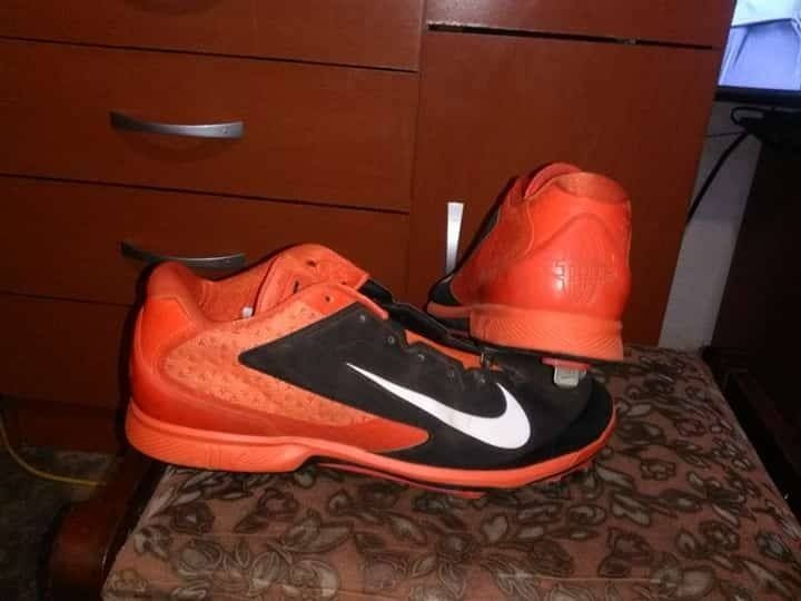 low priced 7a630 a13fb Ganchos De Beisbol Nike Huarache - Bs. 30.000,00 en Mercado Libre