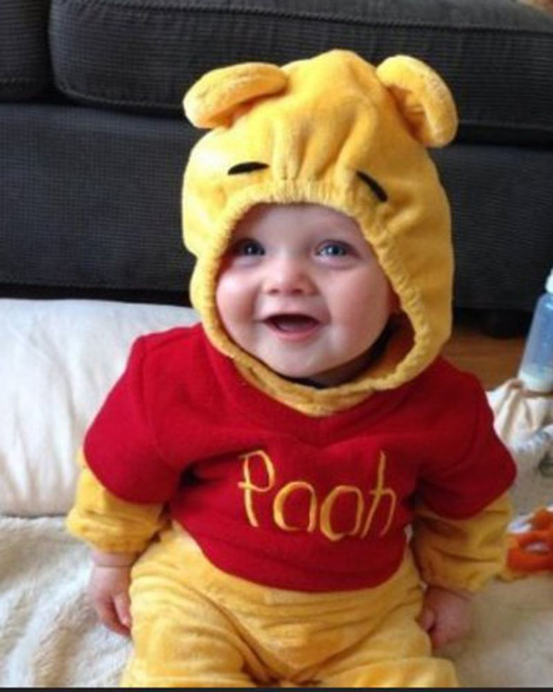 Winnie the Pooh - Baby Halloween Costumes Even More Delicious Than Candy  sc 1 st  Pinterest & 39 Baby Halloween Costumes Even More Delicious Than Candy ...