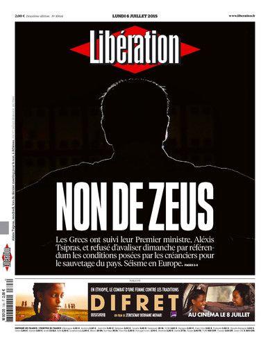 Libération, journal numérique du 6 juillet 2015