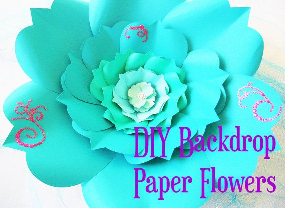 Giant paper rose templates easy printable pdf rose template diy paper flower svg files pdf digital templates with instructions hand cut or use with a cutting machine please read carefully mightylinksfo