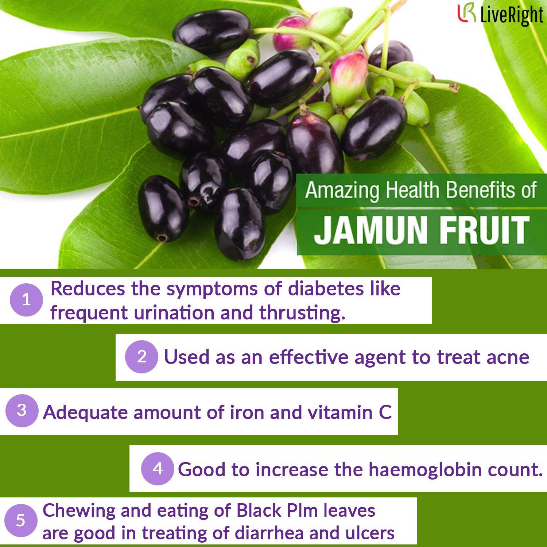 amazing health benefits of jamun fruit   health, health