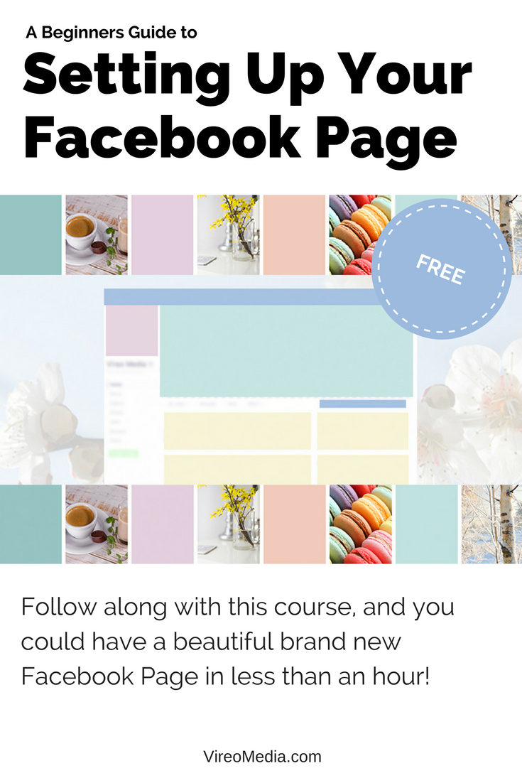 free ecourse how to setup your facebook page facebook business rh pinterest com 101 Facebook Status Facebook Thumbs Up