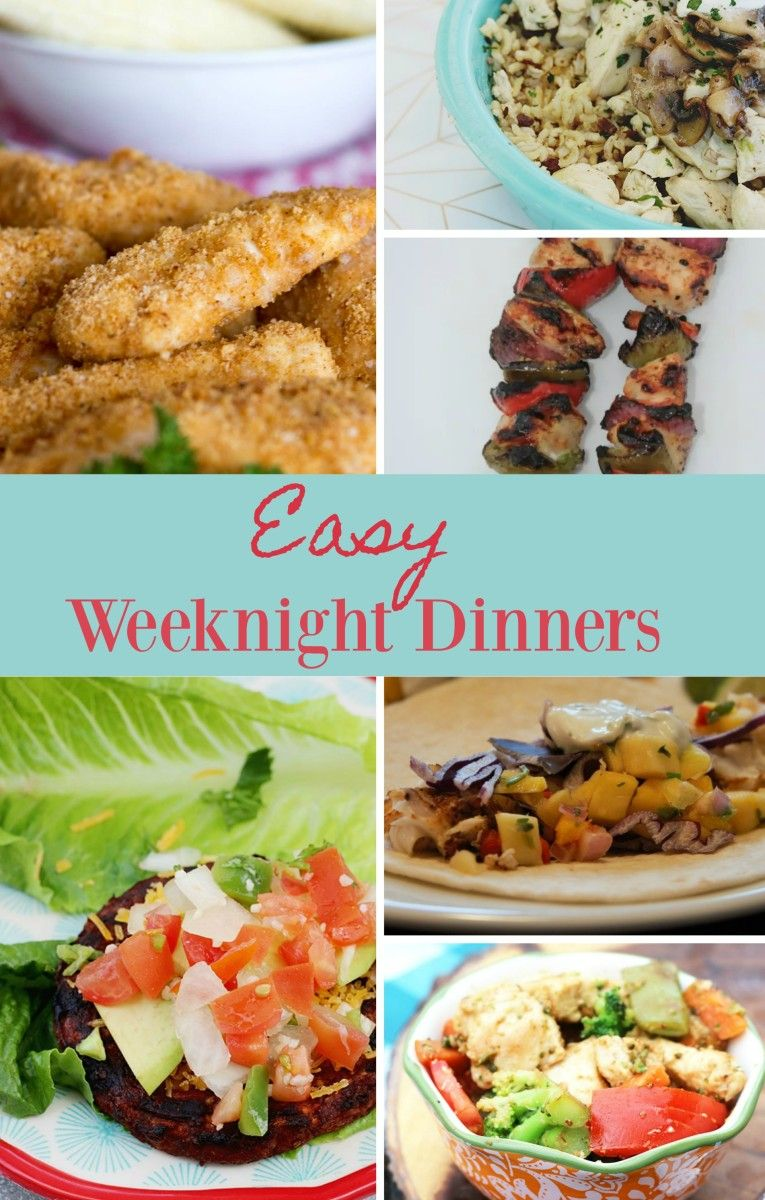 The Best Weeknight Dinner Recipes Easy That Your Family Will Love Dinnerrecipe Easyrecipe Bestrecipes Food Eat