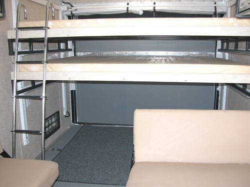 Happijac Bed Lift Amp Optional Double Bunk Camper Bed