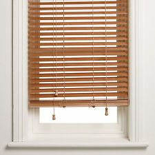 BNIB John Lewis Light Oak venetian blinds - 5 x 80 x 160 ...