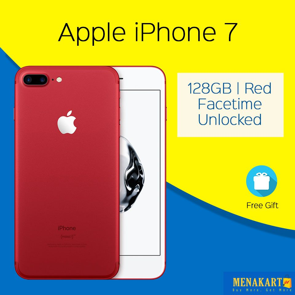 Shop for Apple iPhone 7 128GB, Red, Facetime, Unlocked