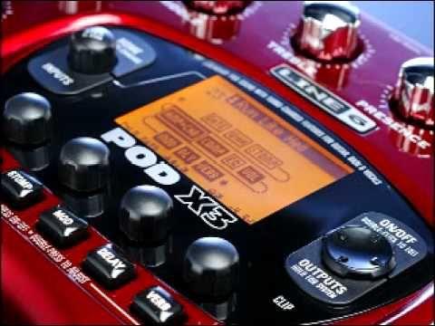 Line 6 Pod X3 Steve Vai Tone With Settings Steve Vai Pods Heavy Metal Songs