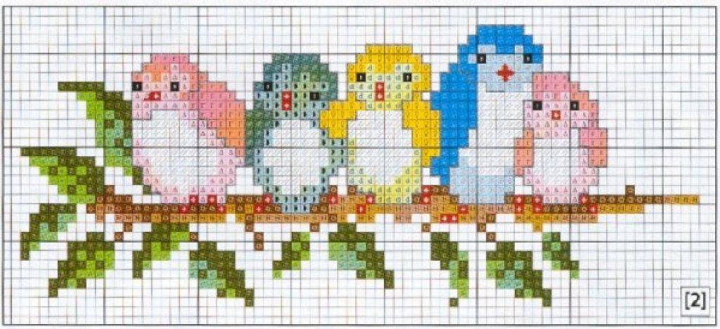 punto de cruz patrones animales   puntada de cruz   Pinterest ...