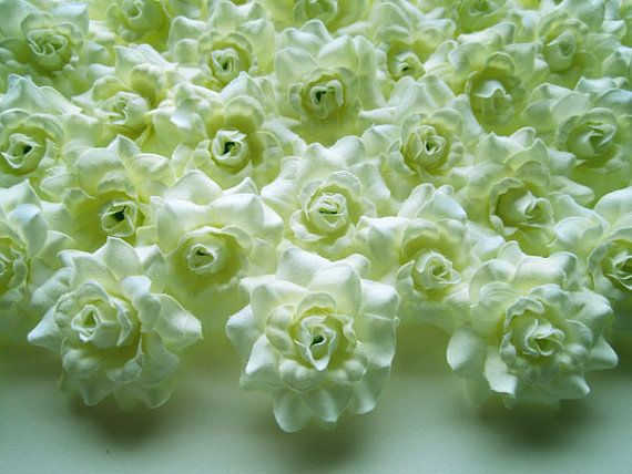 Wholesale Flowers Headband Flowers Wedding Flowers 2/'/' DIY Applique Flower Blue Silky Fabric Flower Mini Flower Headband Flowers
