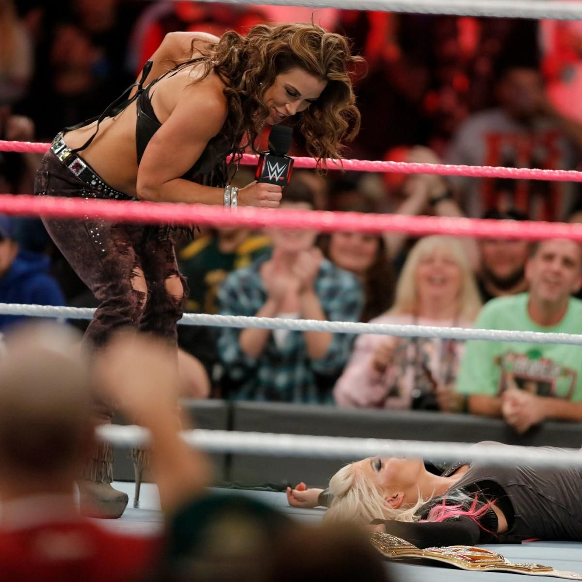 Micky James Xxx Ele raw 10/23/17: mickie james delivers a painful message to alexa