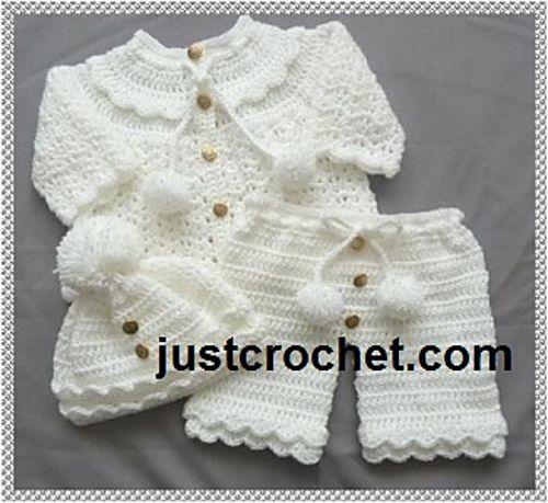 b891d728ed7a Ravelry  Baby crochet pattern JC119A pattern by Justcrochet Designs ...