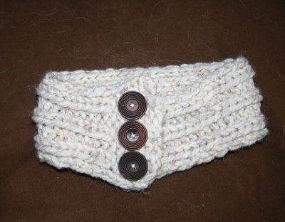 knitted headband/ear warmer ????g? ? ????. Pinterest Free pattern, Need...