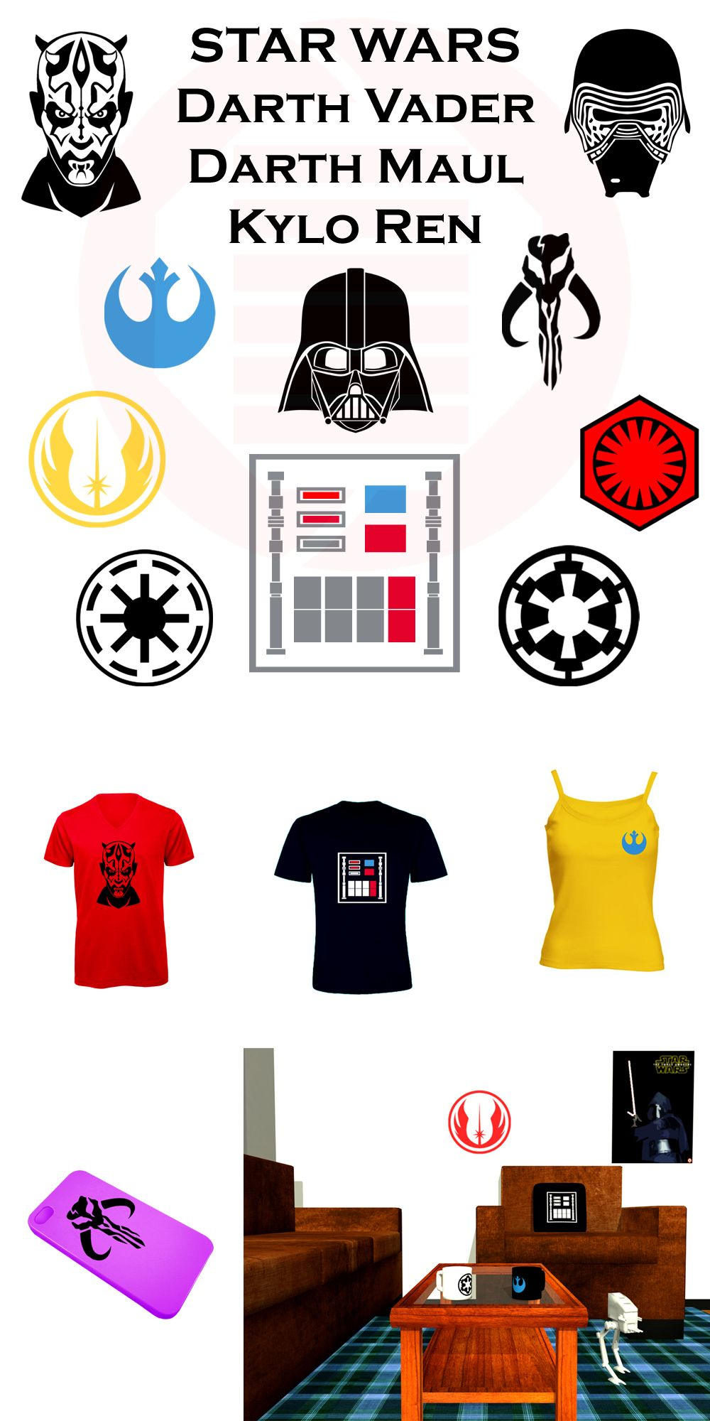 Nice star wars set of symbols for home decorations crafts nice star wars set of symbols for home decorations crafts clothes cosplay buycottarizona Image collections