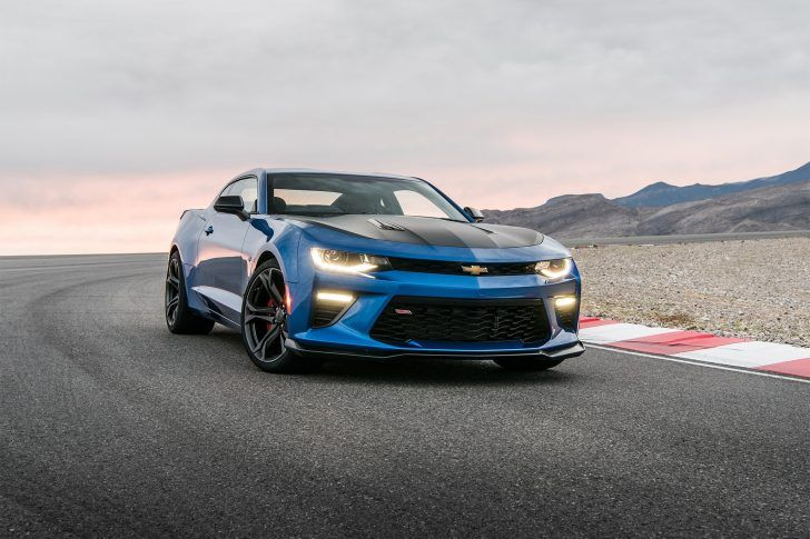 2018 Chevrolet Camaro Zl1 1le Blue Hd Wallpaper