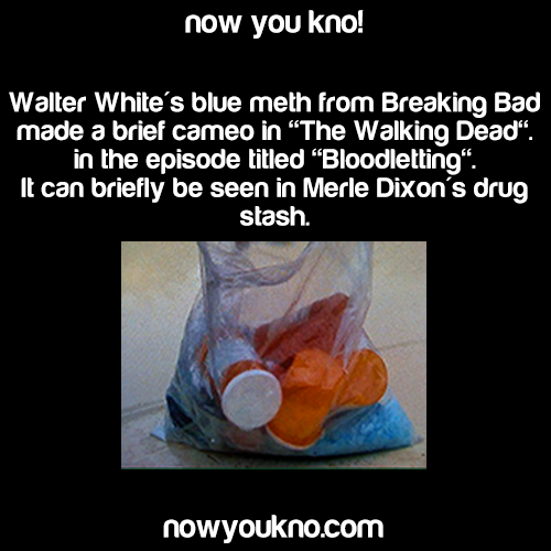 Is The Walking Dead A Sequel To Breaking Bad Youtube: Blue Meth From Breaking Bad Made A Cameo In The Walking