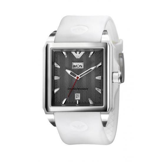 Emporio Armani Men S Sports Grey Quartz Designer Watch Ar0654 Armani Men Watch Design Armani
