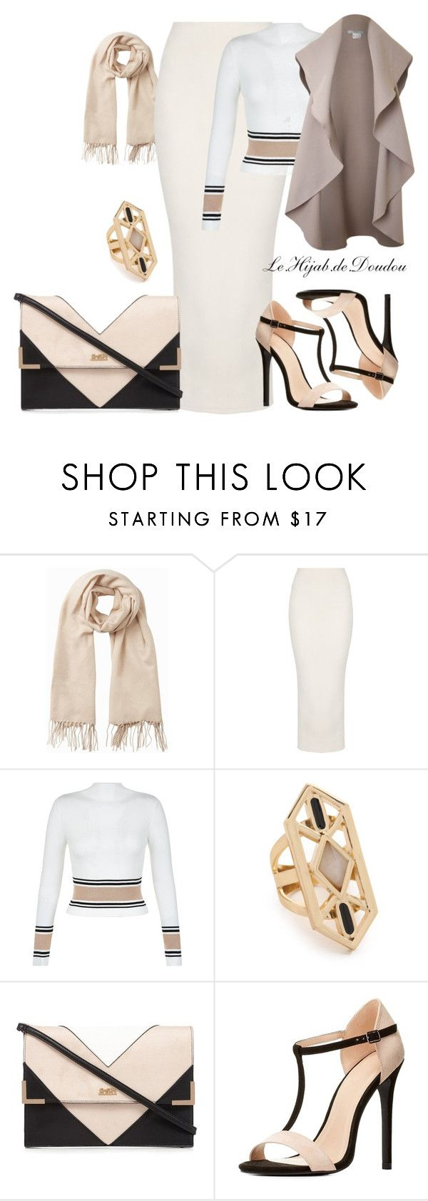 """""""Hijab Outfit"""" by le-hijab-de-doudou ❤ liked on Polyvore featuring Vero Moda, New Look, Jules Smith, Lipsy, Charlotte Russe and Pala"""