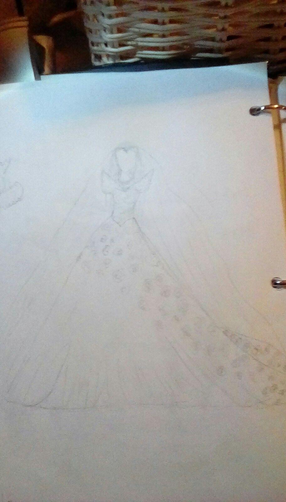 Dream wedding dress my drawings pinterest dream wedding dresses