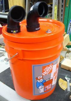 Homemade cyclone separator cyclone dust collector three