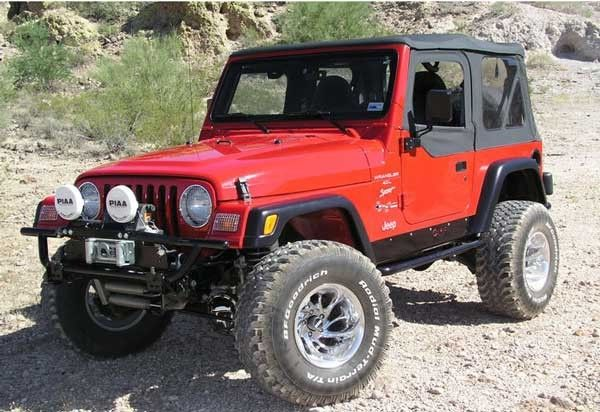 red jeeps with side rocker panels - Google Search