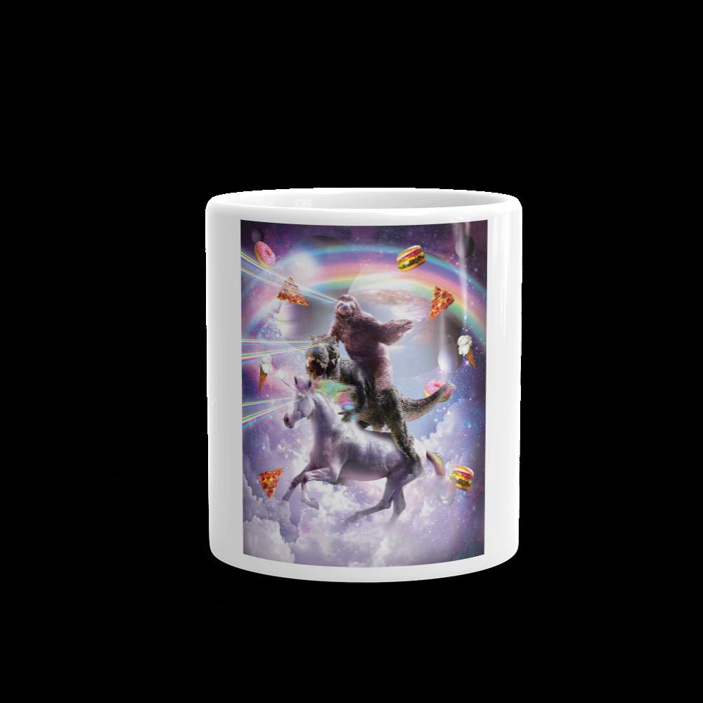 Random Galaxy Mug Mugs Giraffe Mug Unicorn Donuts