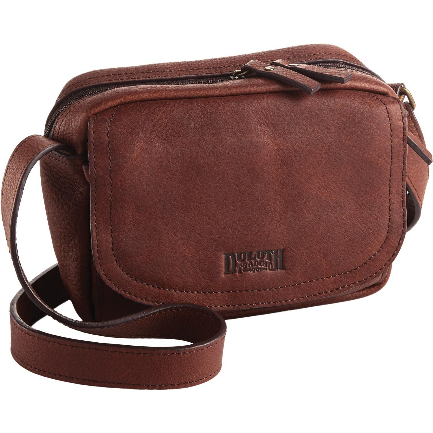 Lifetime Leather Mini Sling Bag - Duluth Trading. Seems like my ...