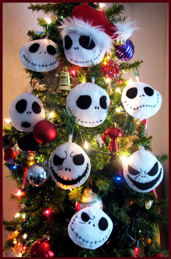 Plush Jack Tree Ornaments By Onebadhat On Deviantart Geek