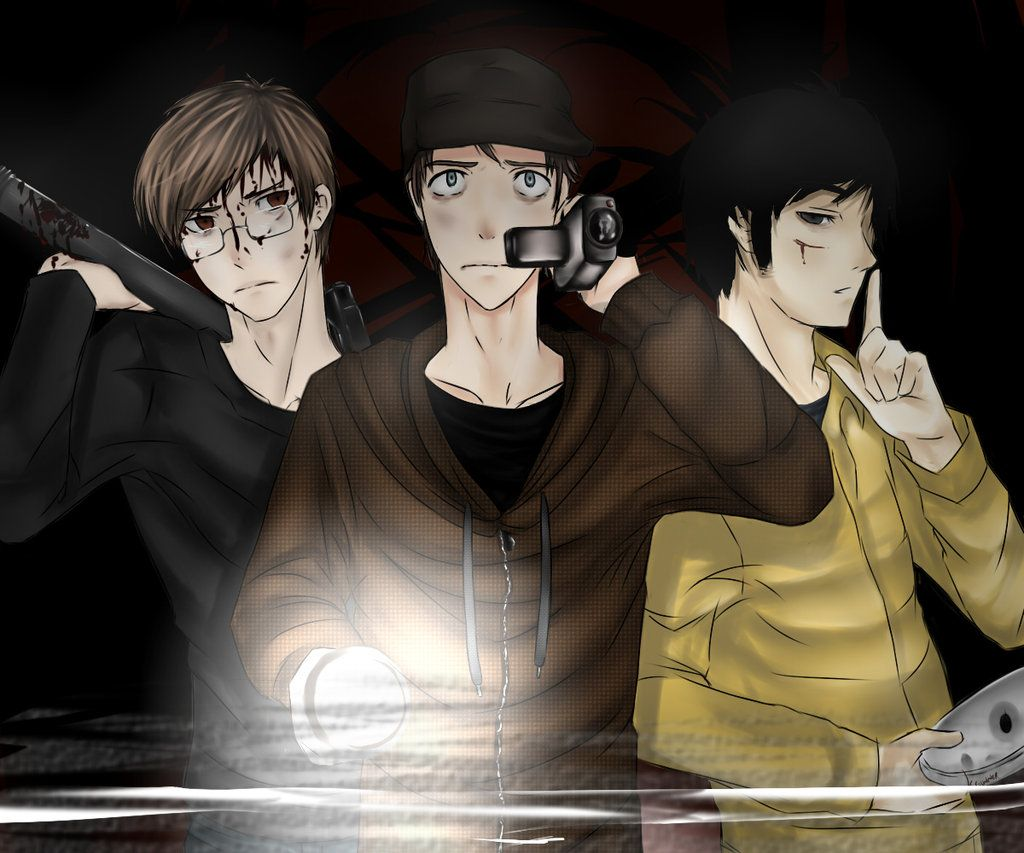 marble hornets masky and hoodie Google Search