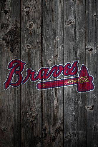 Atlanta Braves Wood Iphone 4 Background Atlanta Braves Iphone Wallpaper Atlanta Braves Wallpaper Brave Wallpaper
