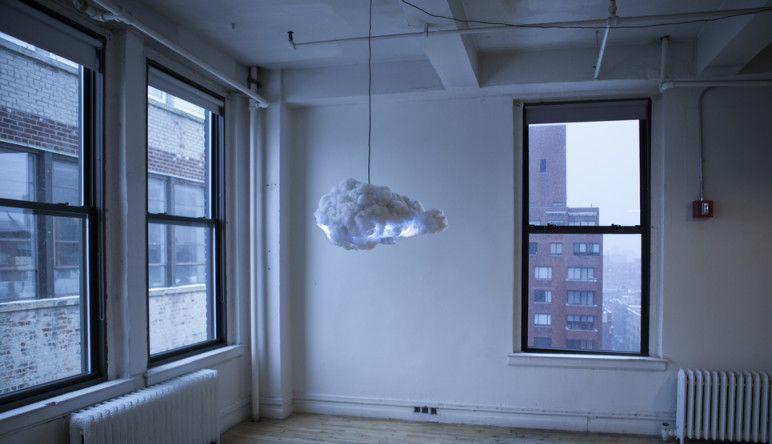 Richard Clarkson, lampe Cloud (nuage), luminaire original et connecté by The Cool Republic Magazine, blog design et décoration